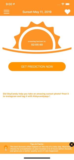 SkyCandy - Sunset Forecast App on the App Store