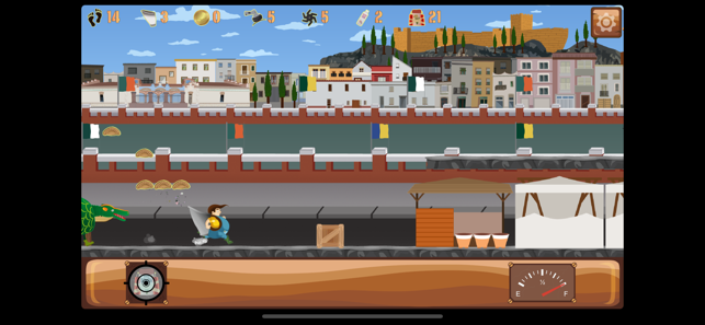 Belly Run, game for IOS