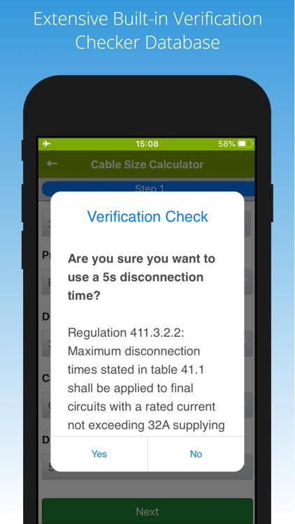 Cable Calc screenshot-3