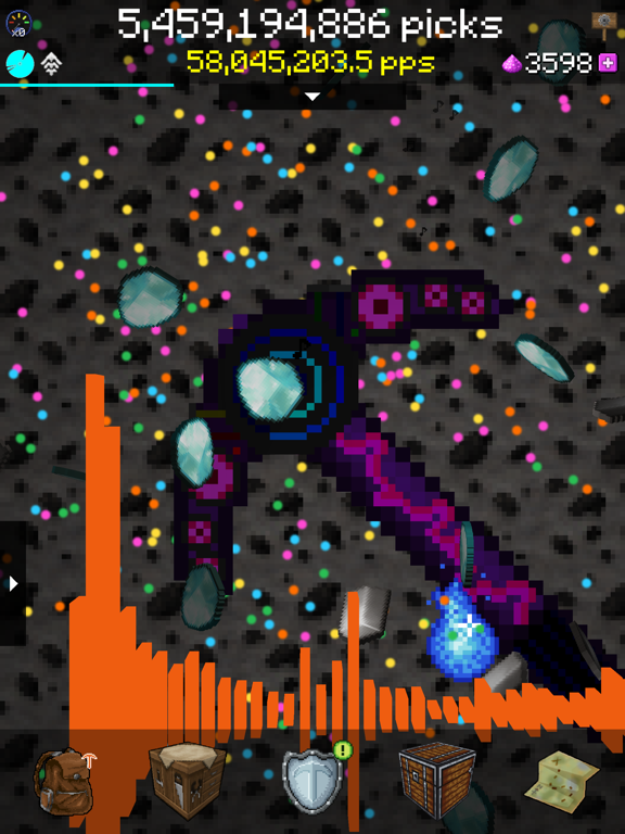 PickCrafter - майнкрафт кликер для iPad