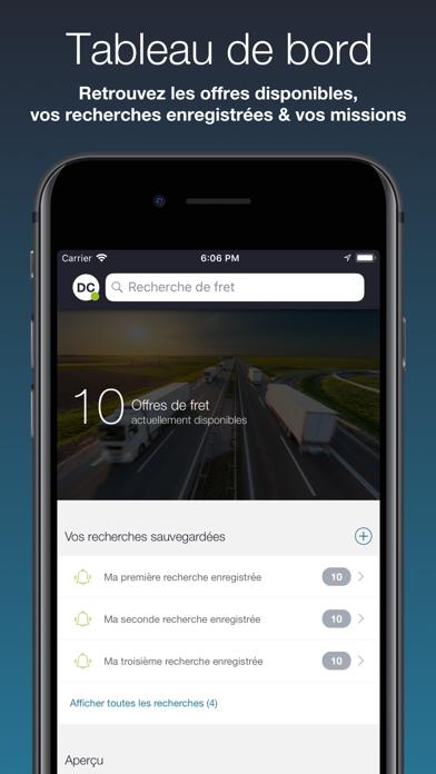 Screenshot #1 pour Chronotruck Chauffeur