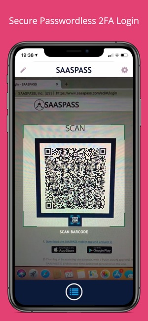 SAASPASS Authenticator 2FA MFA on the App Store