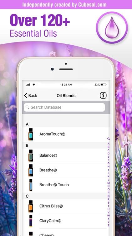 Essential Oils Guide: doTERRA screenshot-1