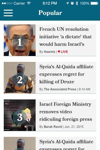 Haaretz English Edition - náhled