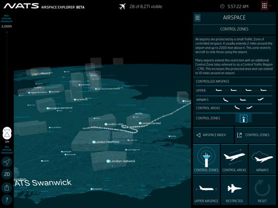 NATS - Airspace Explorer screenshot three