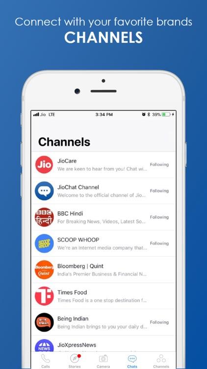 JioChat Video Messenger screenshot-5