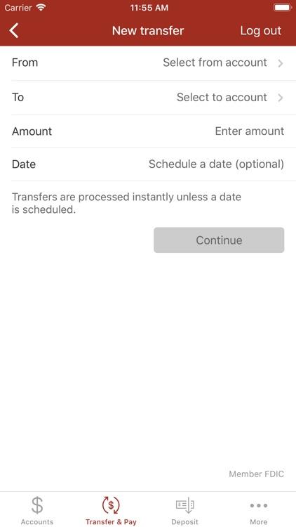 Leader Bank Mobile Banking screenshot-4