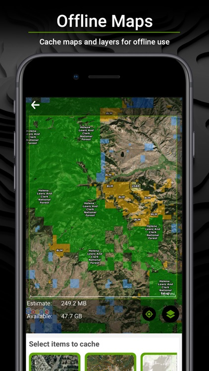 BaseMap: 3D Hiking Hunting Map screenshot-5