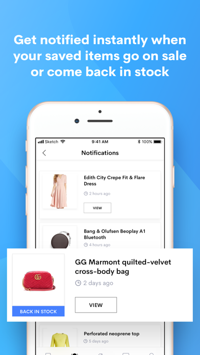 Shoptagr: get notified when an item you want goes on sale