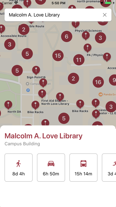 SDSU Campus Maps screenshot 3