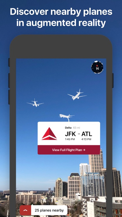 AR Planes - flight tracker screenshot-0