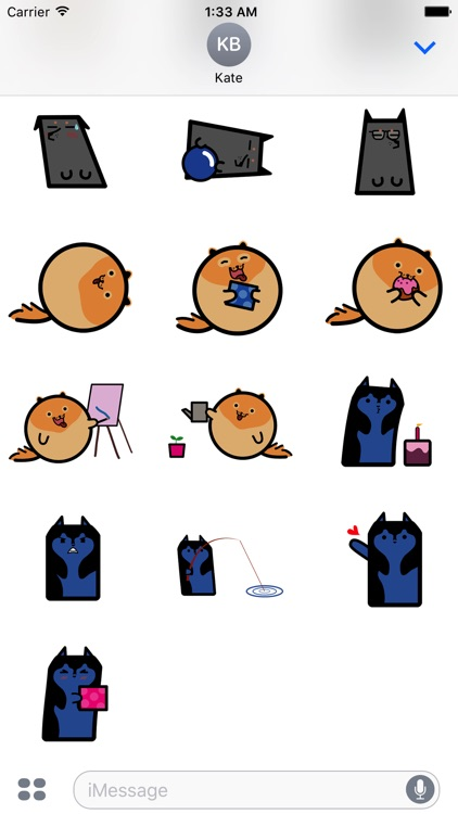 CUTE CAt DOg Animated Sticker screenshot-4