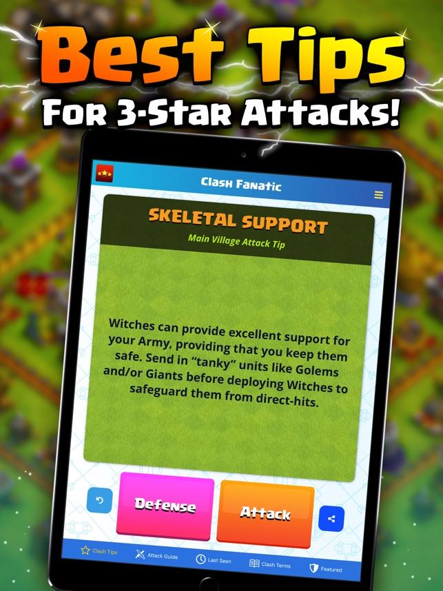 Clash Fanatic - Tips & Cheats on the App Store
