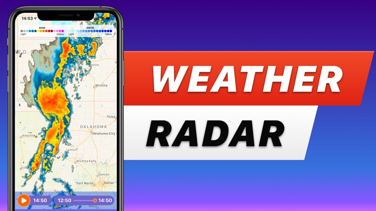 RAIN RADAR - sky weather NOAA