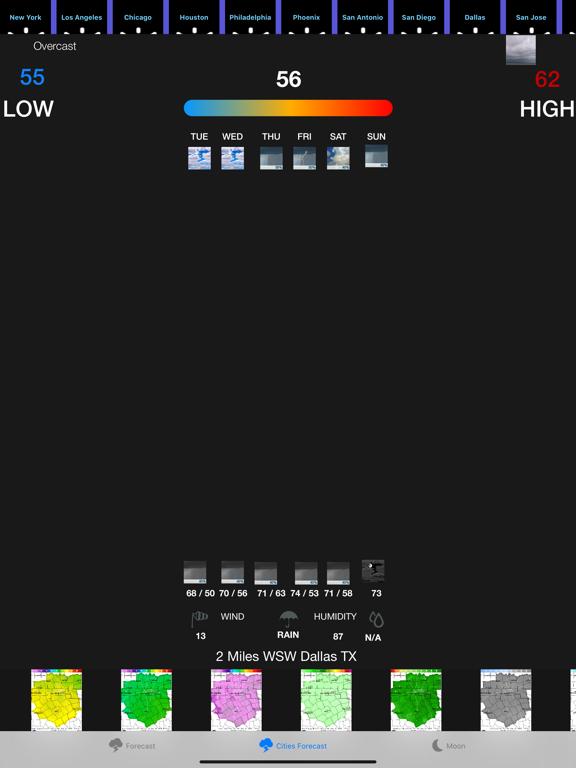 Instant NOAA Forecast Pro screenshot 9