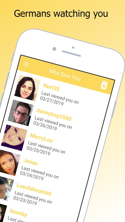 Single And German Dating Chat screenshot-5