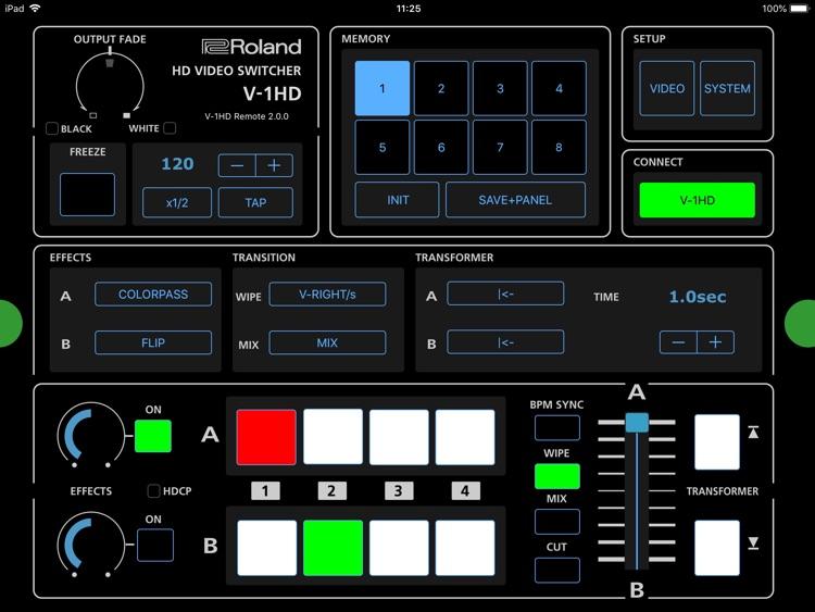 V-1HD Remote