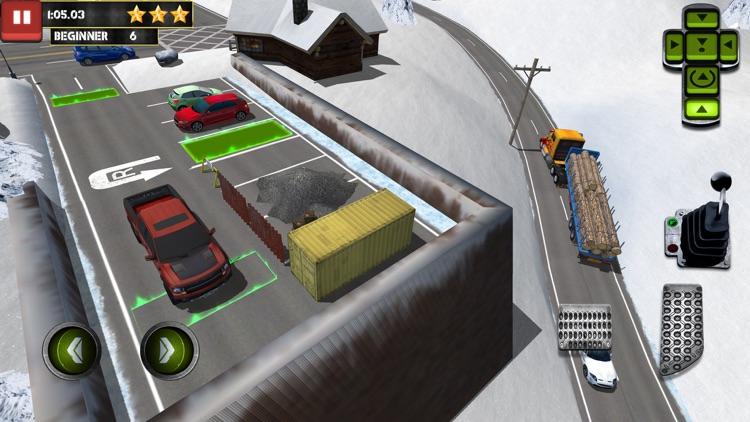 Ice Road Truck Parking Sim screenshot-3
