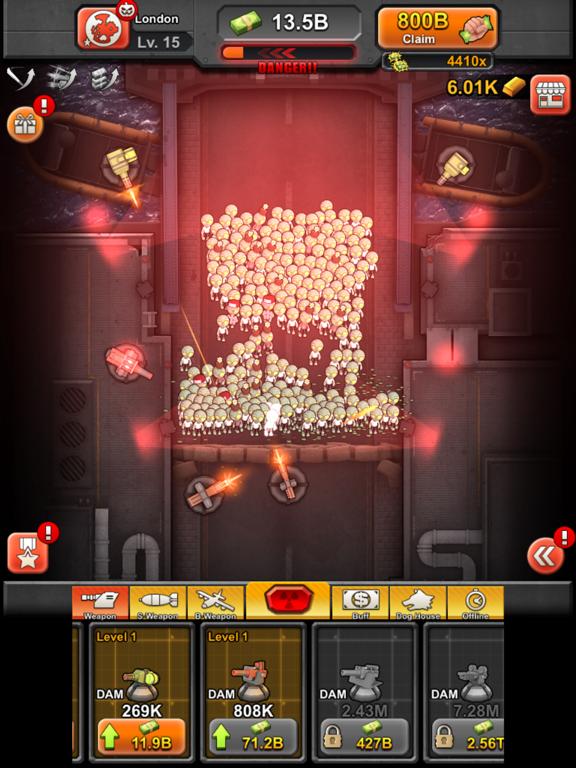 Idle Zombies для iPad