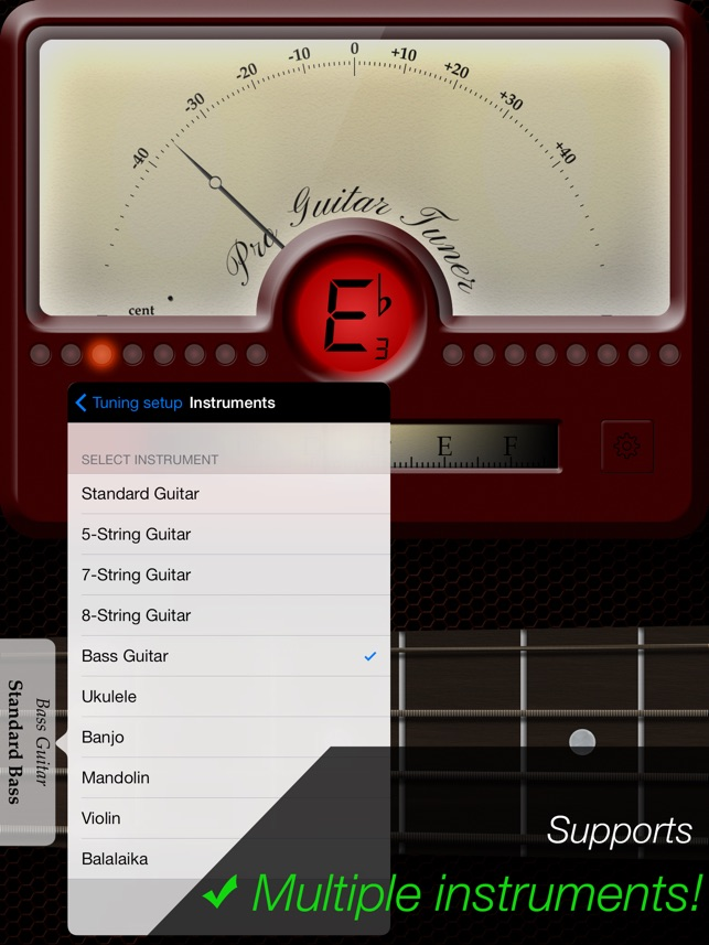Pro Guitar Tuner on the App Store