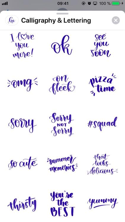 Calligraphy & Lettering screenshot-3
