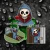 Skeleton Halloween Stickers