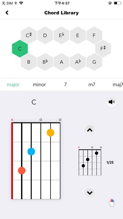 gstrings - Guitar tuning app screenshot-4