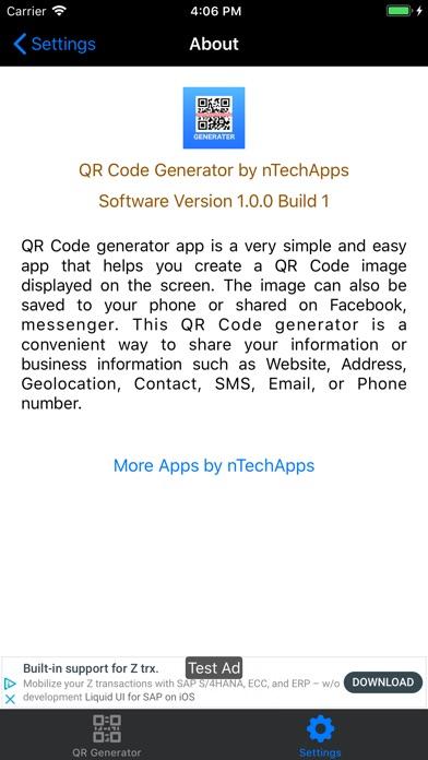 QR Code Generator by nTechApps | Apps | 148Apps