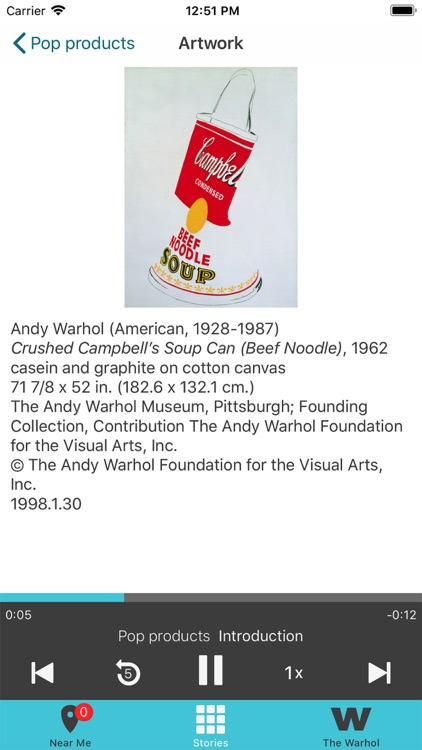 The Warhol: Out Loud