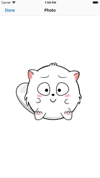Dynamic cute white-YiYuan screenshot-5