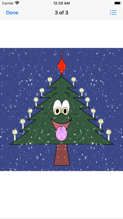 Christmas Tree Emotion sticker screenshot-3