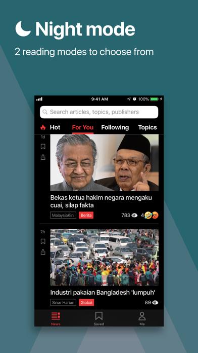 Newswav - Latest Malaysia News screenshot four