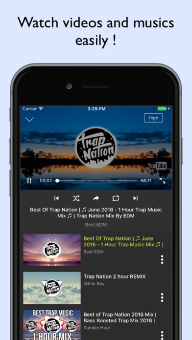 İndir DownTube - Music for youtube Pc için