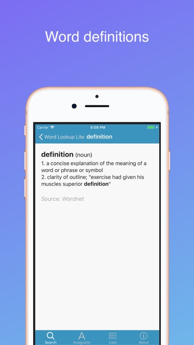 Word Lookup Lite by Peter Hunt (iOS, United States