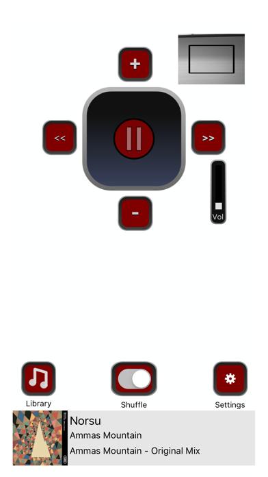 Hands-free Music screenshot one