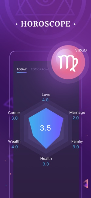Palm Seer - Age app, Horoscope on the App Store