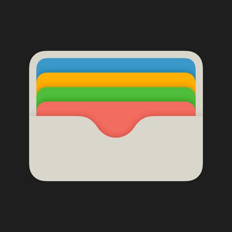 """""""钱包""""App标志"""