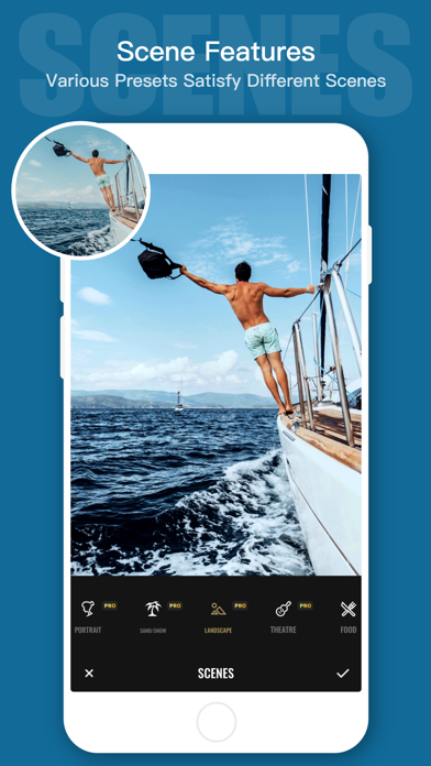 Fotor - Editor & Collage, Enhanced Camera, Photo Effects, Filters and Frames screenshot