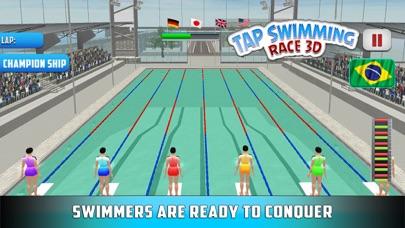 水泳レース3Dをタップするのおすすめ画像2