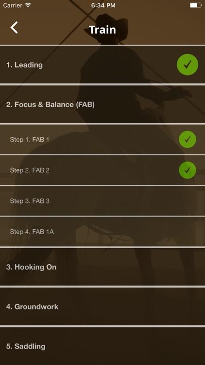 WS Horse Training Checklist screenshot-3