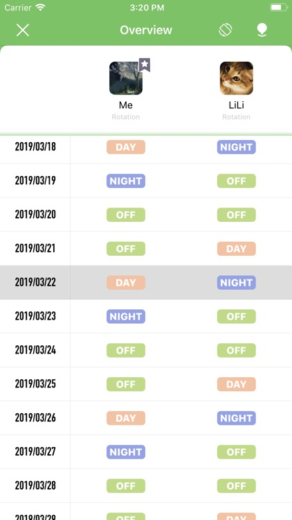 ShiftCal - Shift Calendar screenshot-2