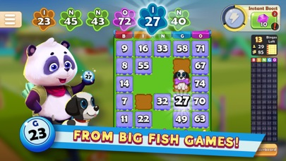 Big Fish Bingo screenshot 1