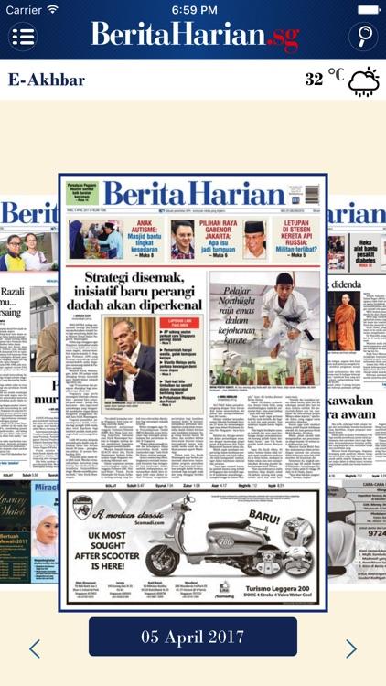 Berita Harian.sg for iPhone