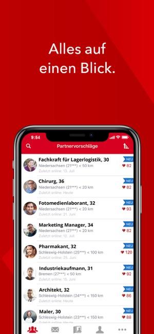 Parship i App Store