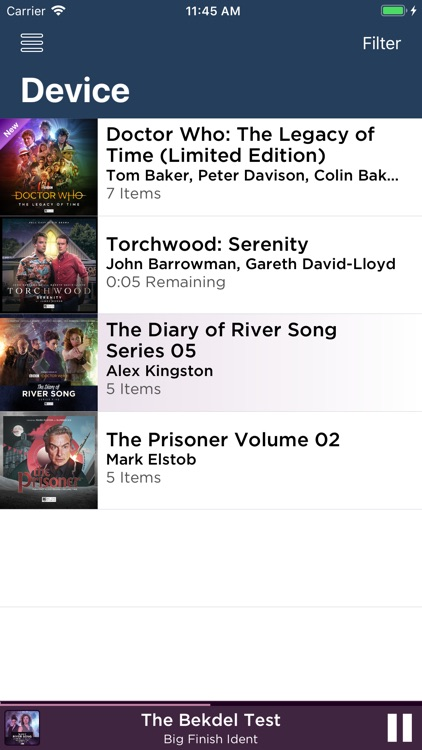 Big Finish Audiobook Player screenshot-1