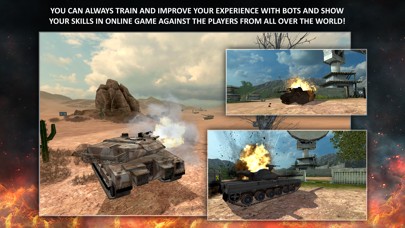Screenshot from Tanktastic - 3D Tanks Online