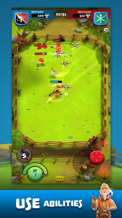 Screen Shot Knockdown Heroes 2