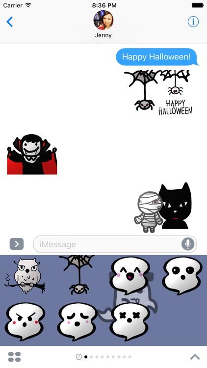 Boo - Halloween Stickers