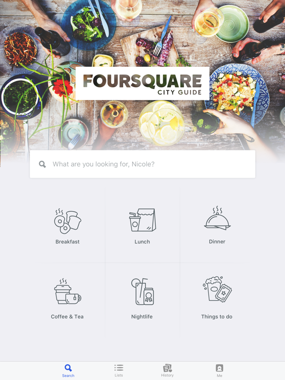 Foursquare City Guide