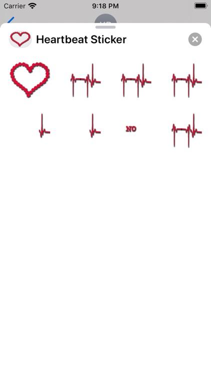 Heartbeat Sticker screenshot-6